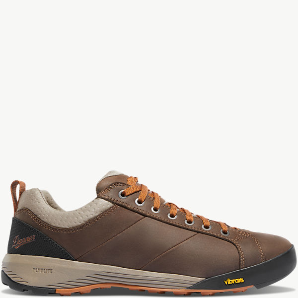 "Camp Sherman 3"" Dark Brown/Orange"