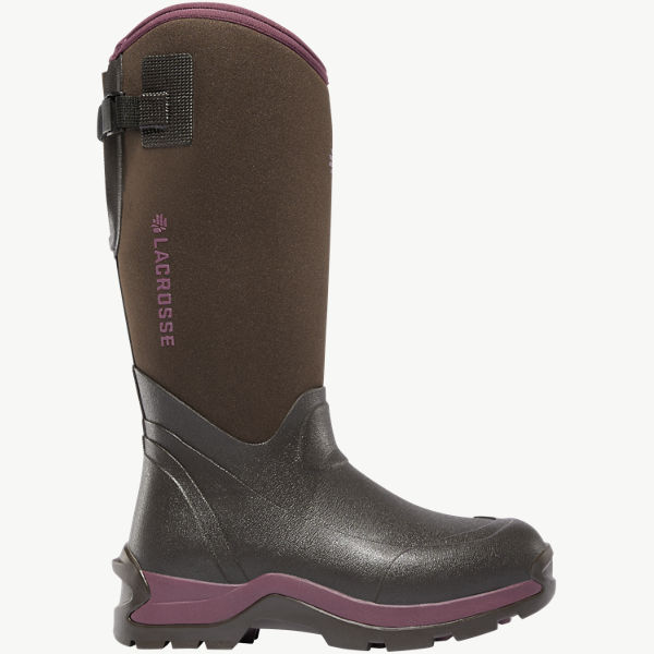 "Women's Alpha Thermal 14"" Chocolate/Plum 7.0MM"