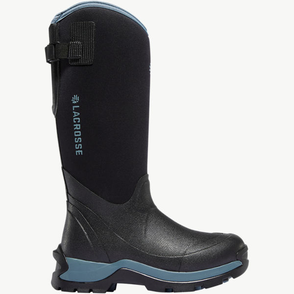 "Women's Alpha Thermal 14"" Black/Cerulean 7.0MM"