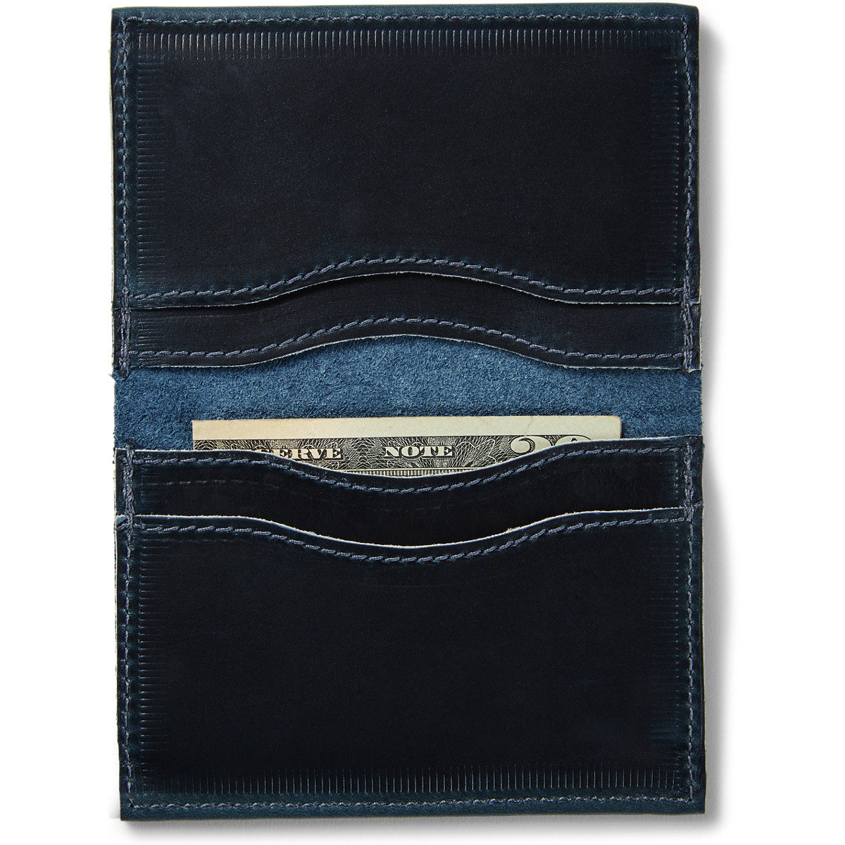 Danner Leather Wallet - Navy