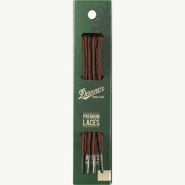 "Laces 63"" Black/Tan"