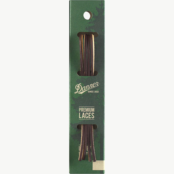 """Leather Laces 46"""" Brown"""