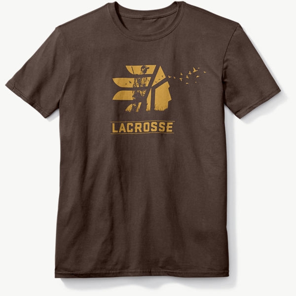 LaCrosse SS Tee - Brown Ducks