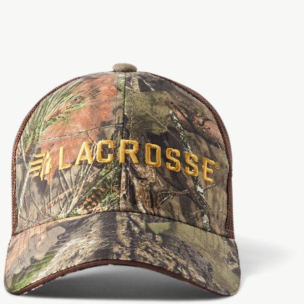 LaCrosse Camo Mesh Back Hat