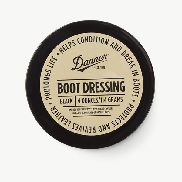 Boot Dressing Black (4 oz)