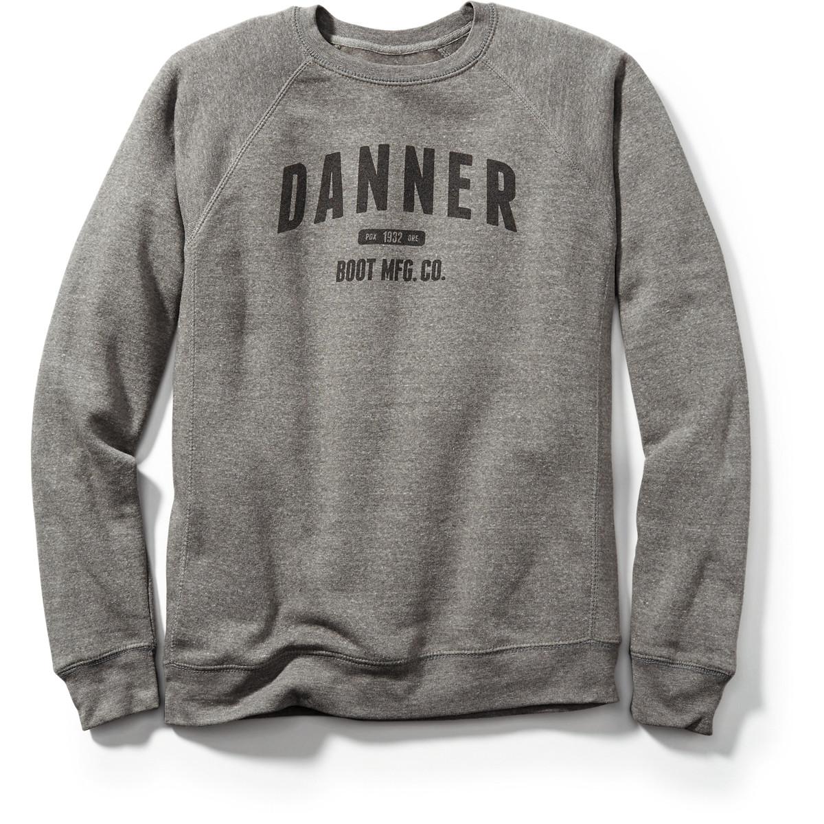 Danner Athletic Sweatshirt - Heather Gray