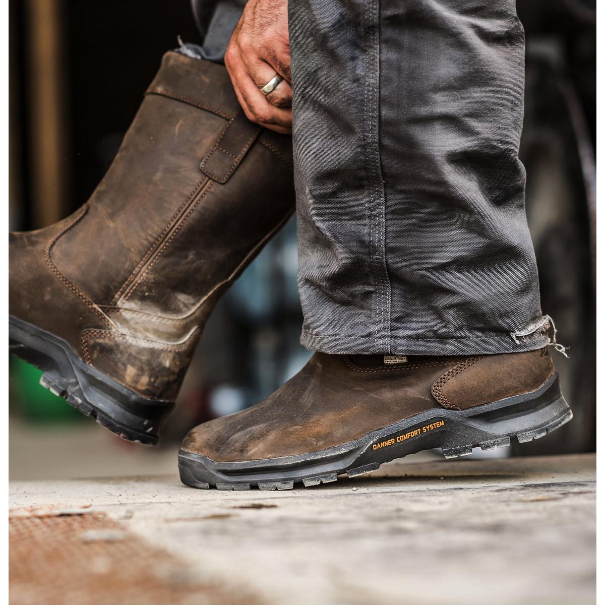 Danner Mens Crafter Wellington Work Boot