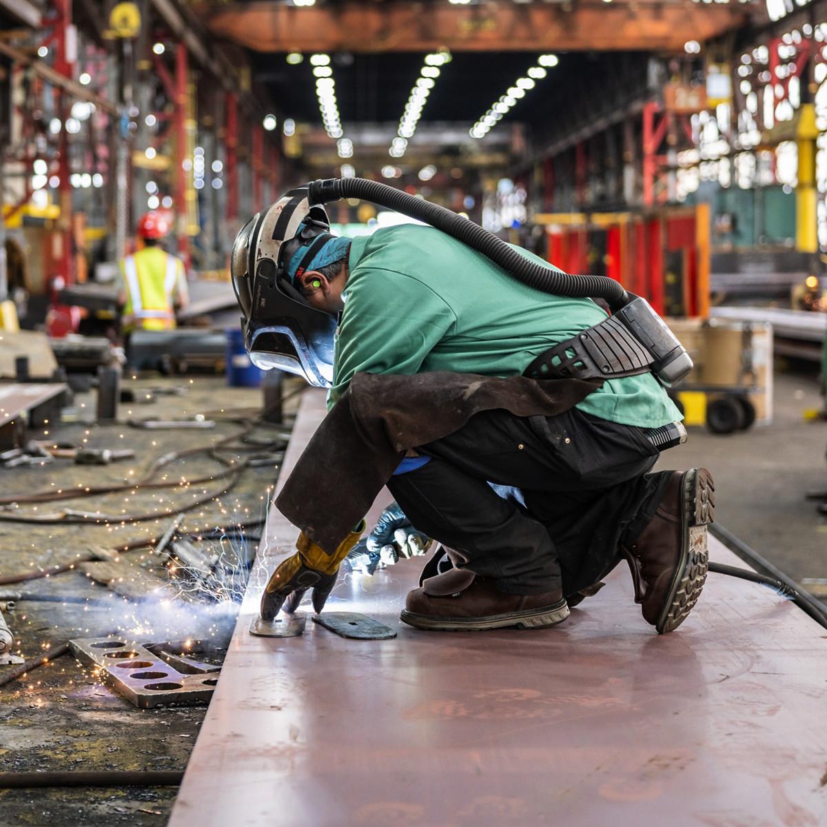 """Steel Yard 6"""" Brown Hot MET/ST"""