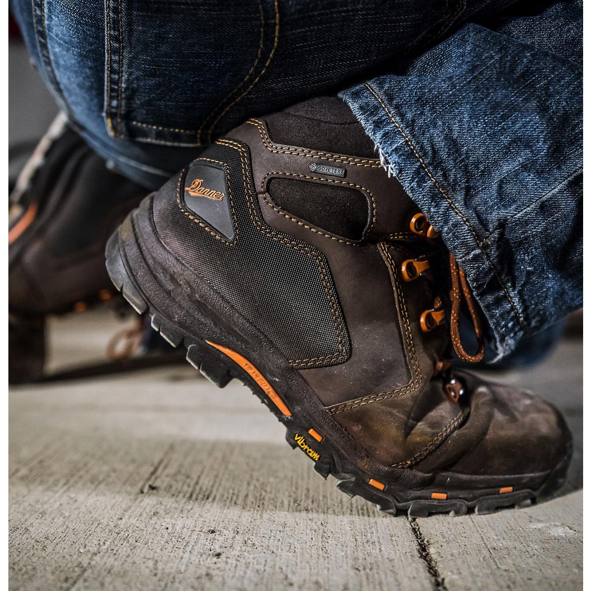 Danner Vicious 4 5 Quot Brown Orange Composite Toe Nmt