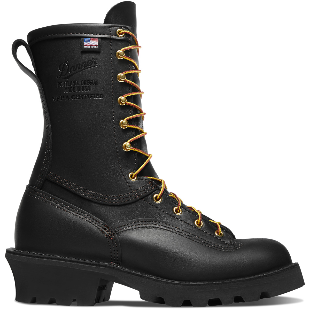 """Flashpoint II 10"""" All Leather Black"""