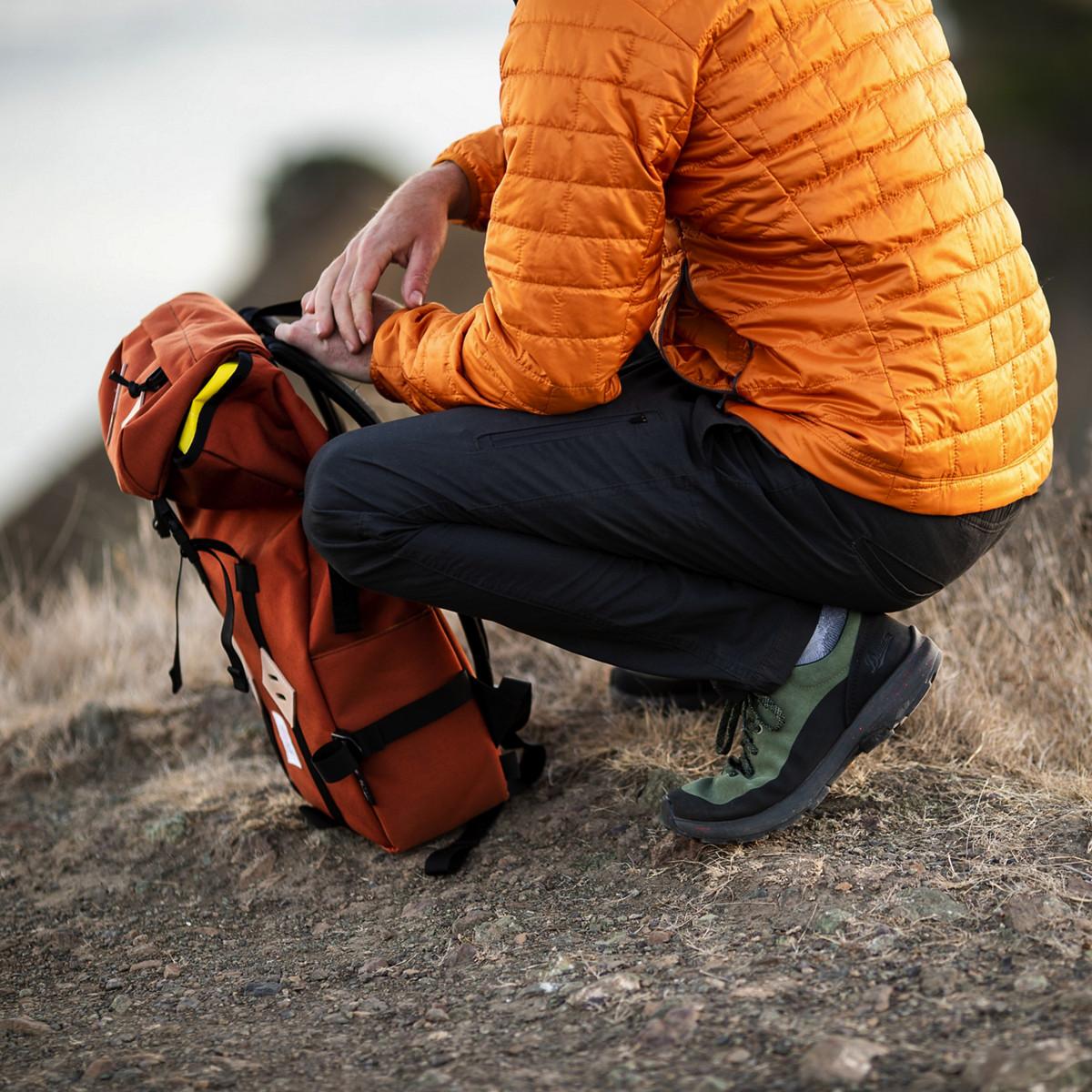 Caprine Low Suede Deep Lichen