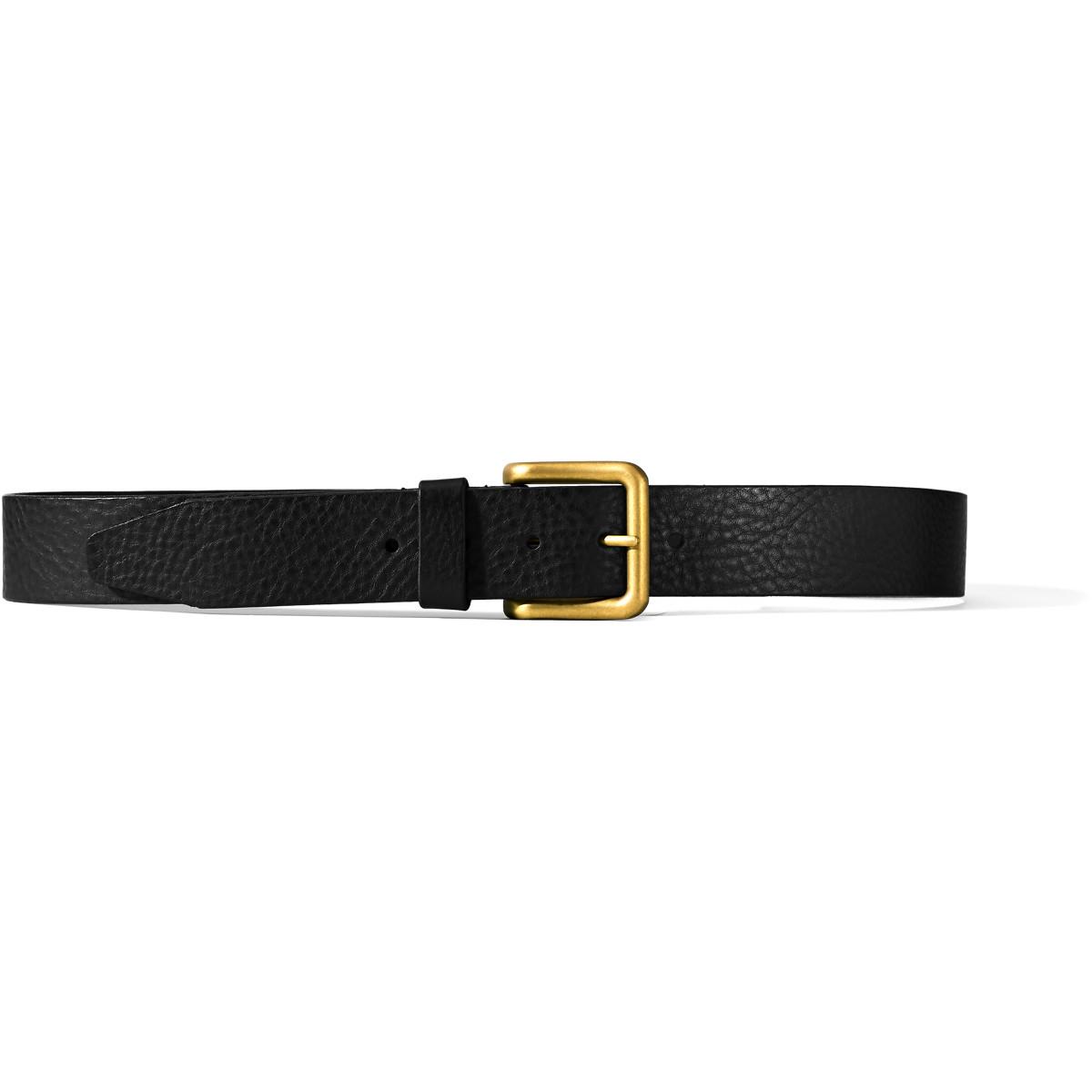 Danner Catch & Release Belt - Black w/ Brass