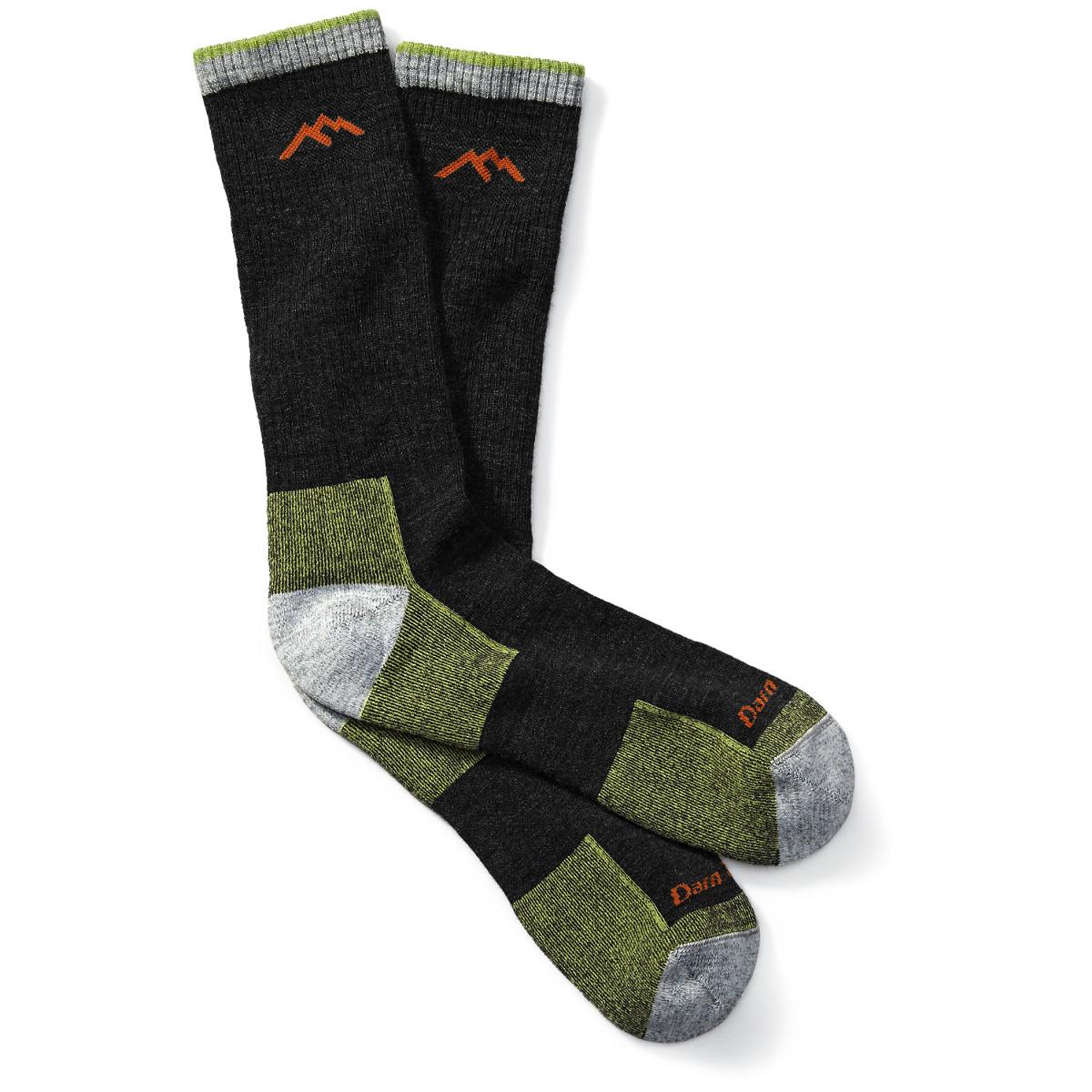 Darn Tough Hiker Boot Sock Cushion - Lime