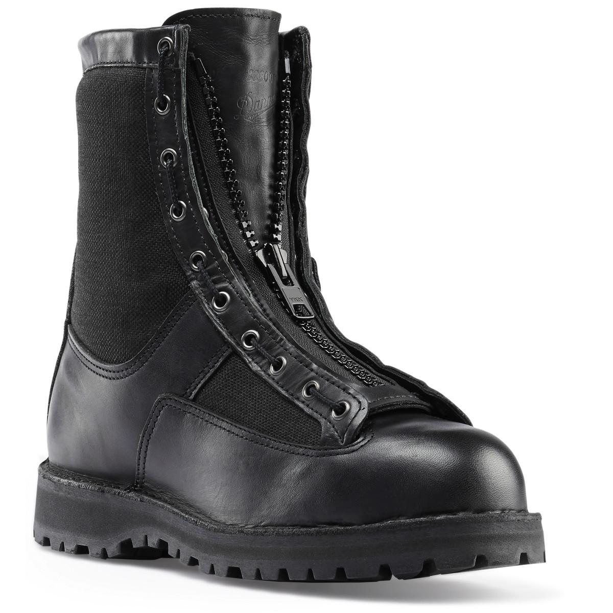 Lace-In Boot Zipper