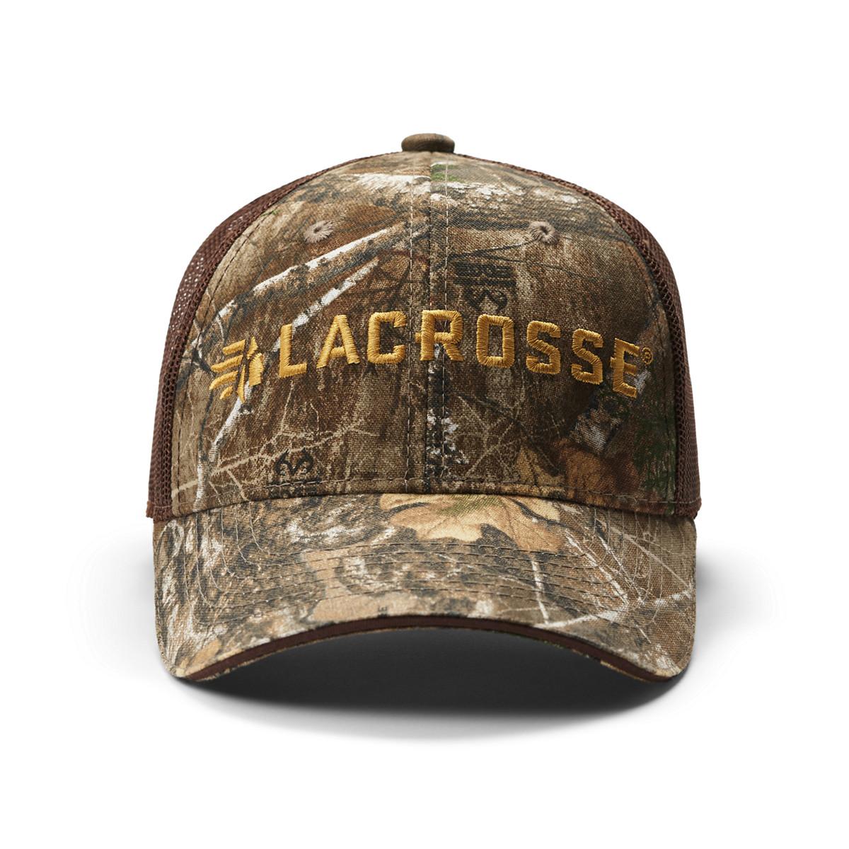 LaCrosse Camo Mesh Back Hat - Realtree Edge