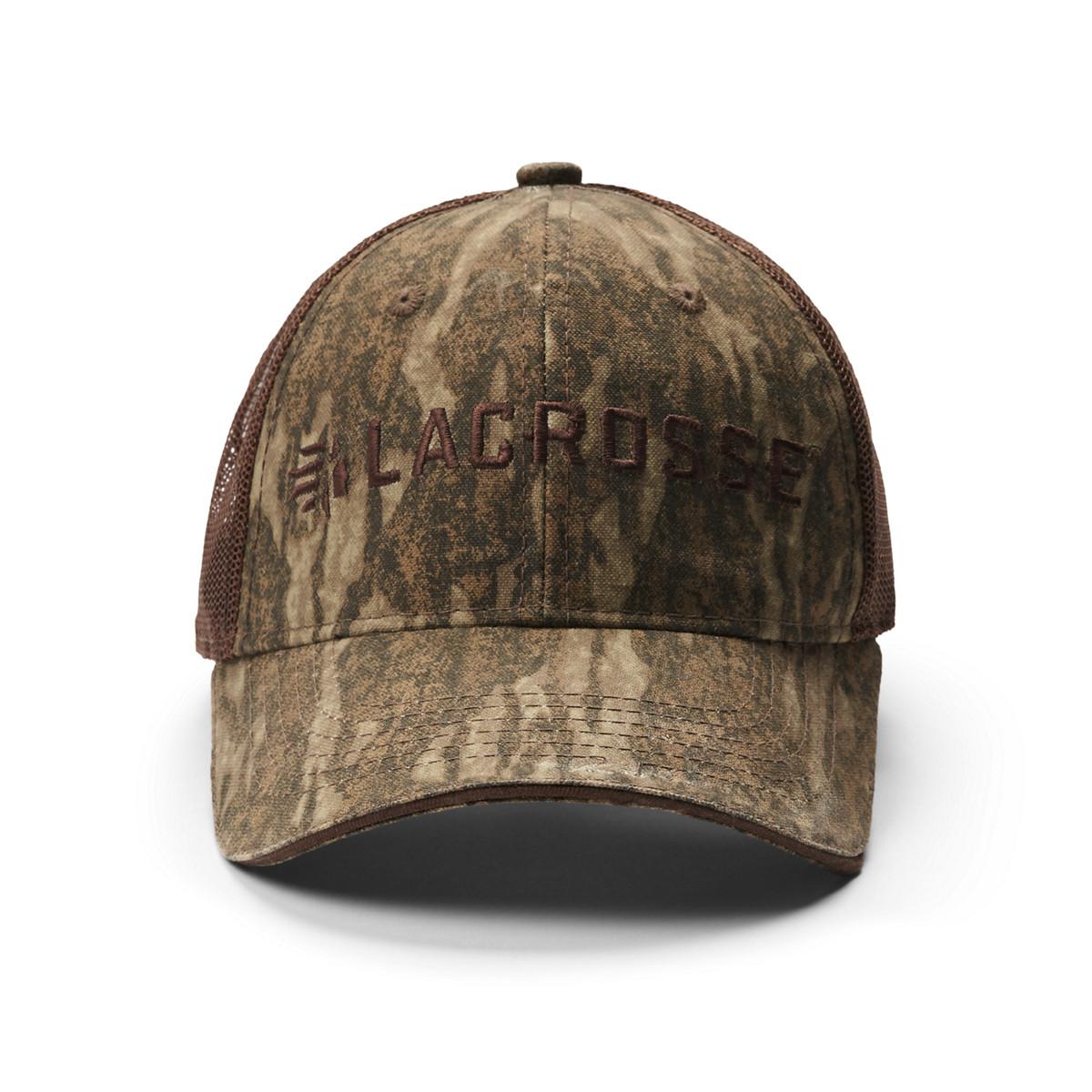 LaCrosse Camo Mesh Back Hat - Mossy Oak Bottomland