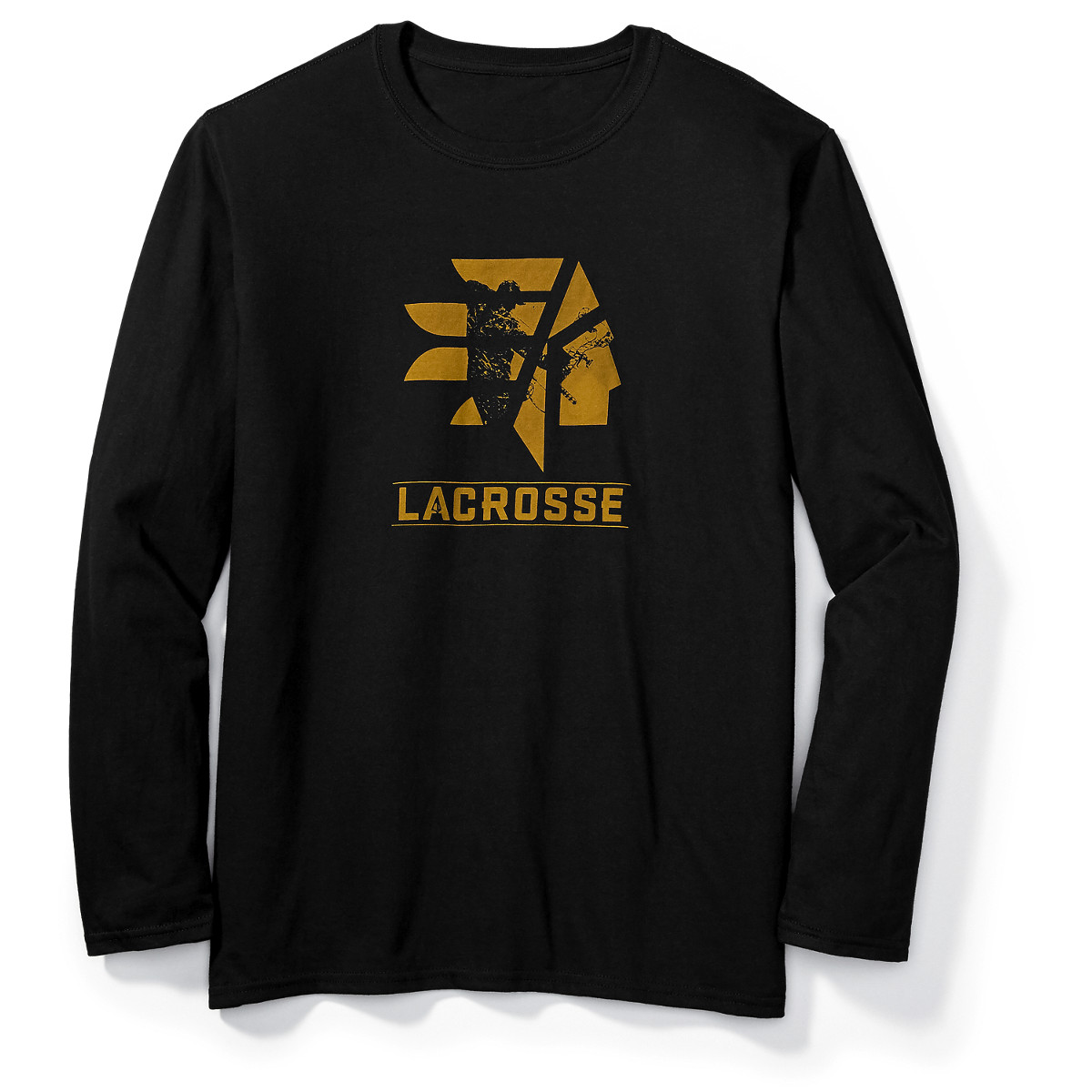 LaCrosse LS Tee - Bowhunting Black