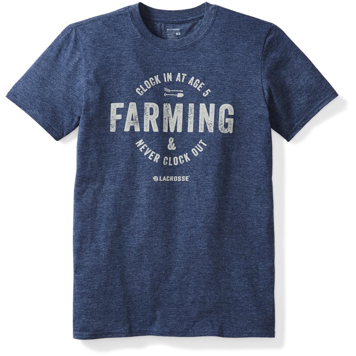 LaCrosse Farming SS Tee
