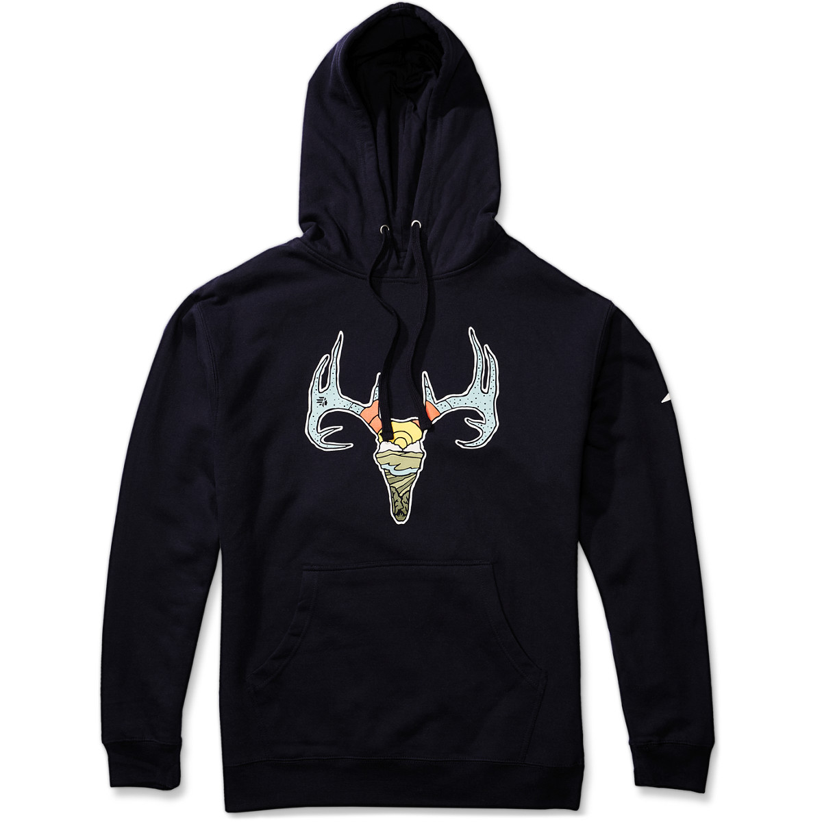 Deer Sweatshirt Navy