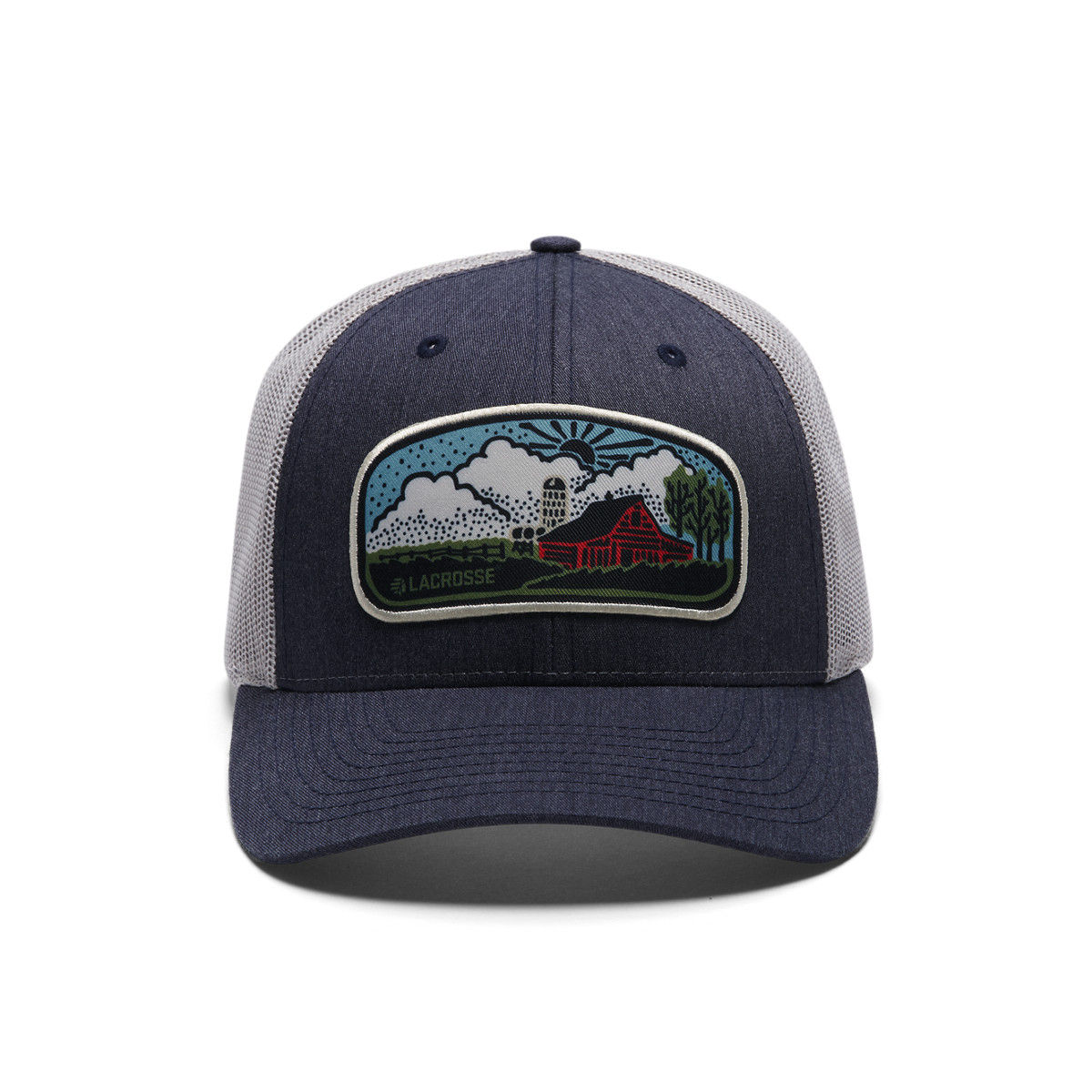 Farm Scene Trucker Cap