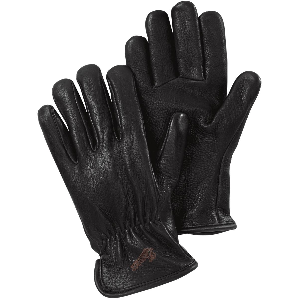 Glove - Deerskin - Merino Lined Black