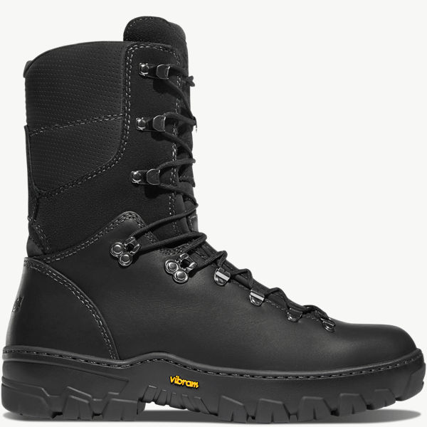 """Wildland Tactical Firefighter 8"""" Black Smooth-Out"""