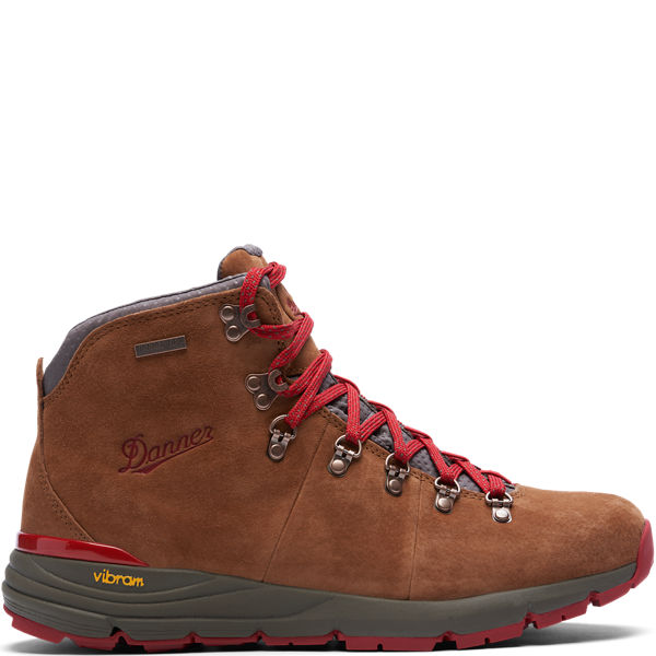 """Mountain 600 4.5"""" Brown/Red"""