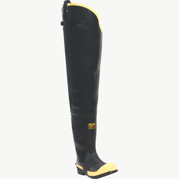"Insulated Storm Hip Boot 31"" Black ST"