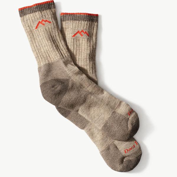 Darn Tough Socks Micro Crew Cushion - Oatmeal