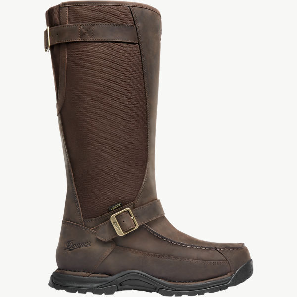 "Sharptail Snake Boot 17"" Dark Brown"