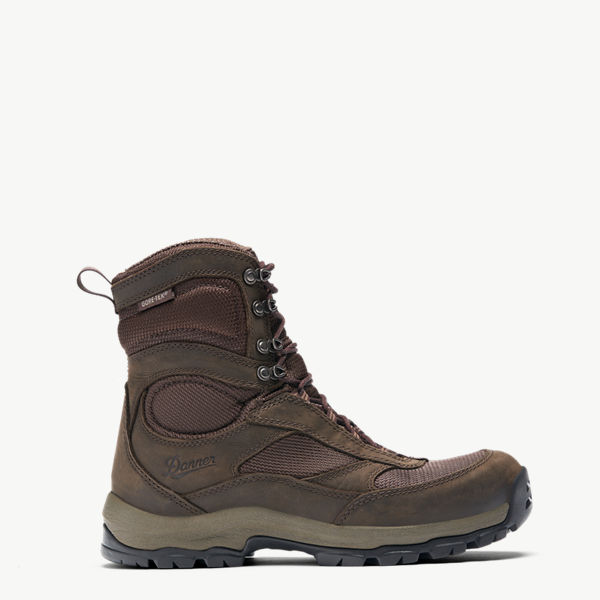 "Women's High Ground 8"" Brown 400G"