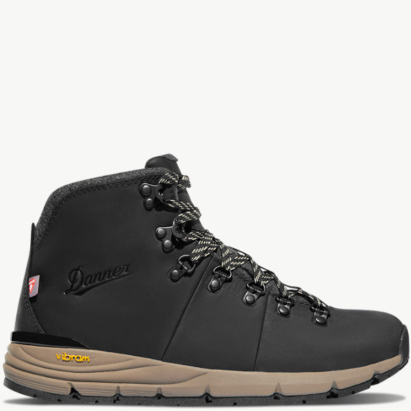 "Women's Mountain 600 4.5"" Jet Black/Taupe 200G"