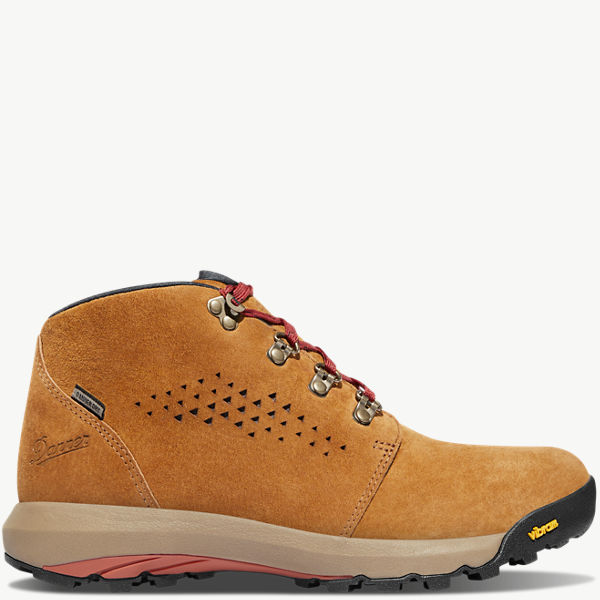 "Women's Inquire Chukka 4"" Brown/Red"