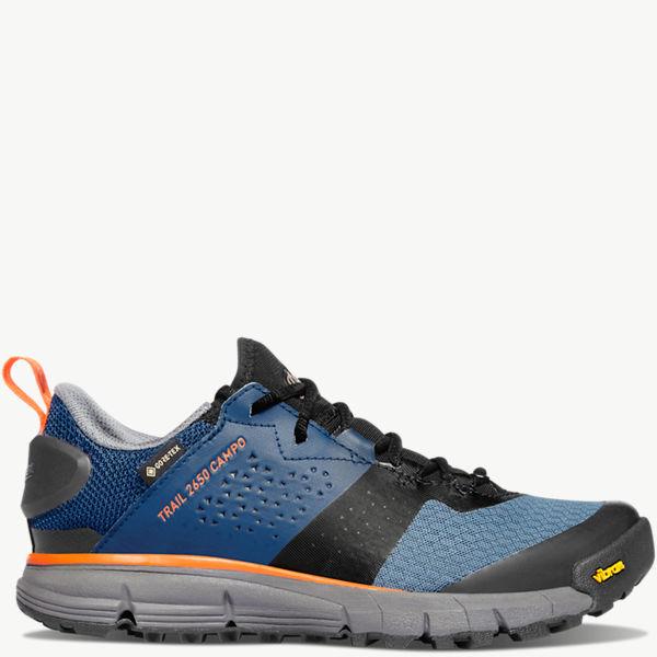 "Women's Trail 2650 Campo 3"" Blue/Orange GTX"