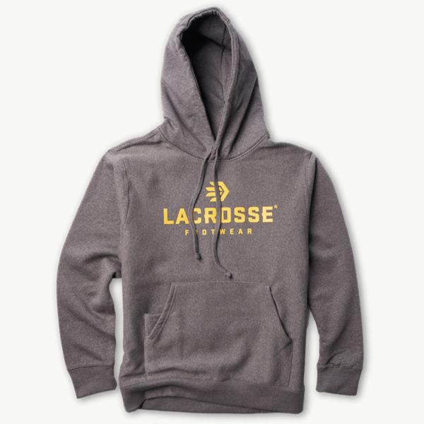 LaCrosse Stacked Logo Sweatshirt Gray