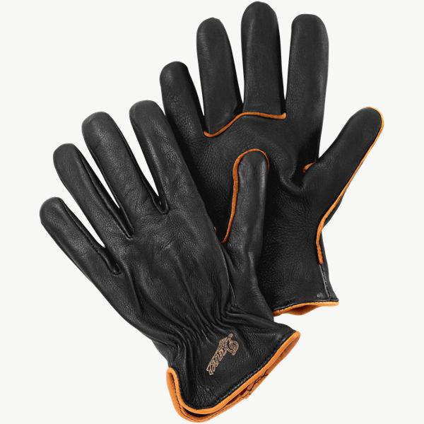 Glove - Deerskin - Piped