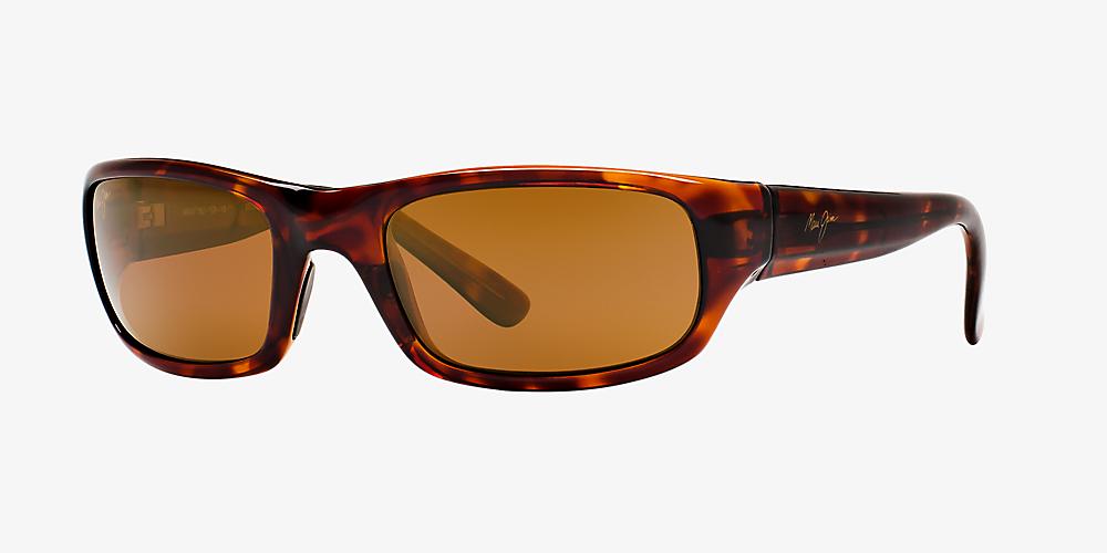 568f28793d Maui Jim STINGRAY 56 Brown & Tortoise Polarized Sunglasses ...