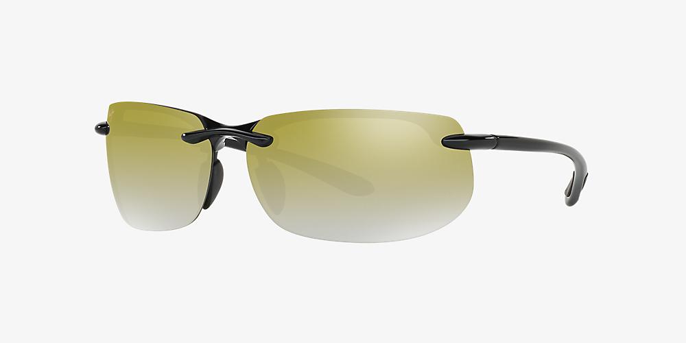 eb38ddeecb57 Maui Jim 412 BANYANS 67 Green & Black Polarized Sunglasses ...