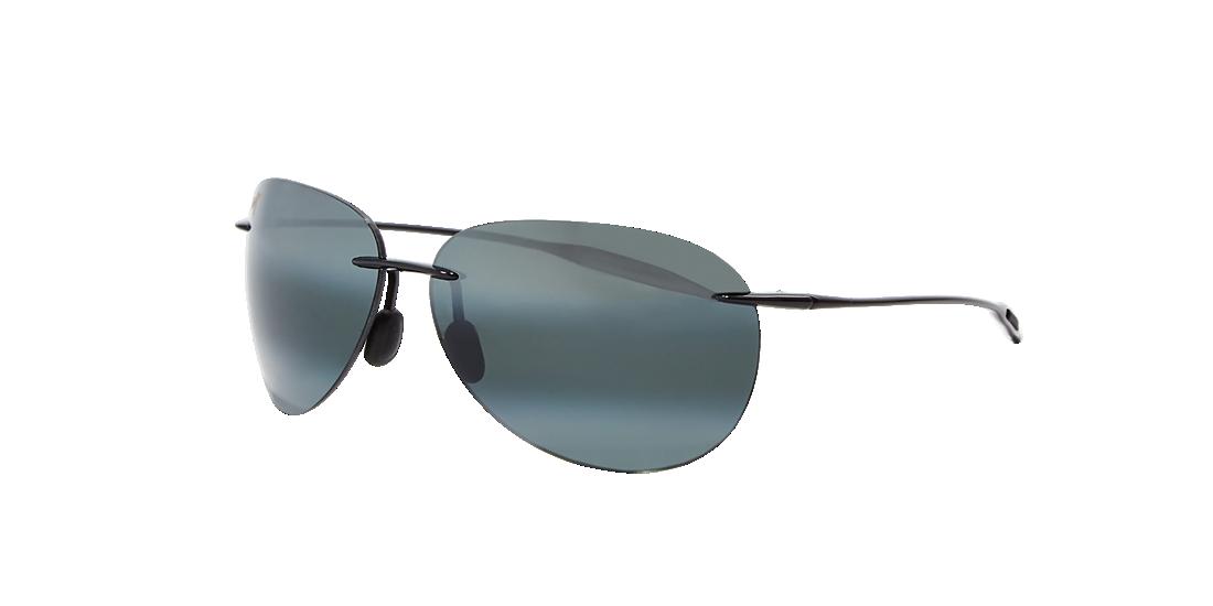 a06a5ae33c Maui Jim MJ000351 62 Grey-Black   Grey Sunglasses