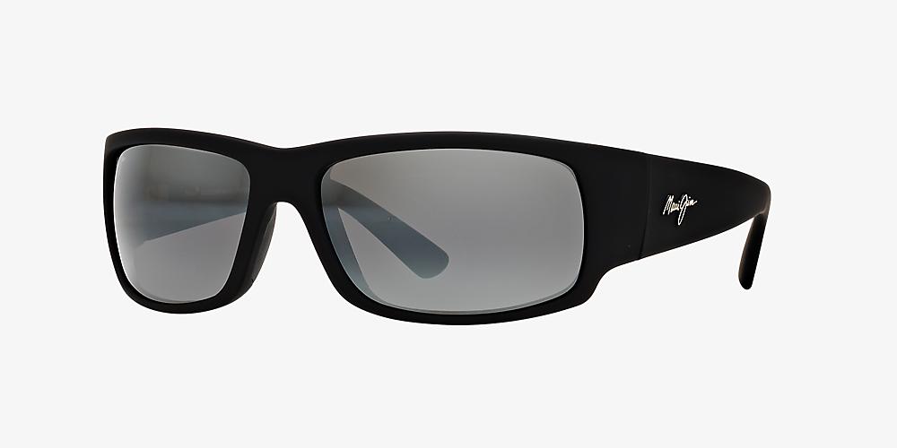 ba709e0a1c Maui Jim 266 WORLD CUP 64 Grey-Black & null Polarised Sunglasses ...
