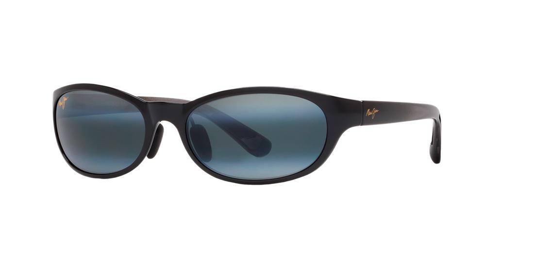 8a6b039ba5 Maui Jim Pipiwai Trail Black Oval Sunglasses