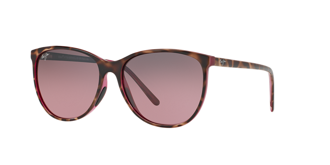 57272d64e5 Maui Jim MJ000512 57 Pink   Tortoise Polarized Sunglasses