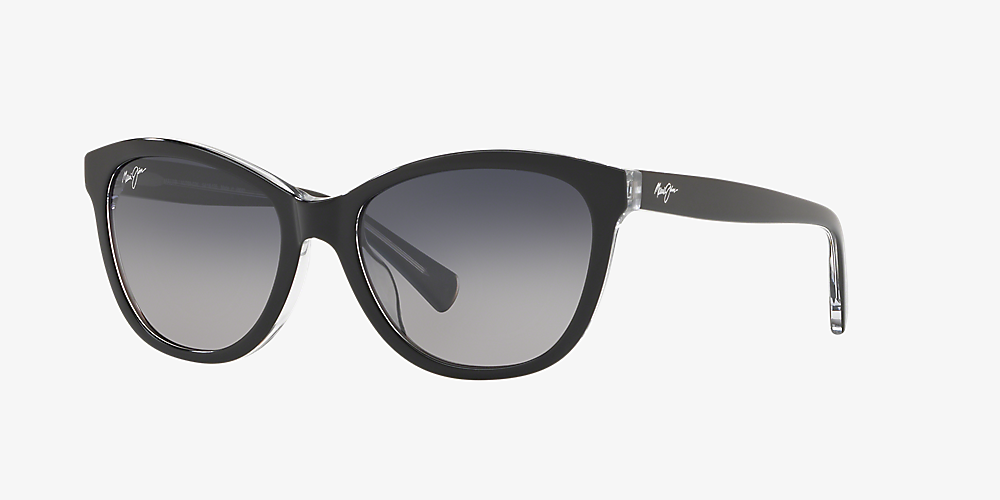 ae9146990afb Maui Jim 769 CANNA 54 Grey-Black & Black Polarized Sunglasses ...