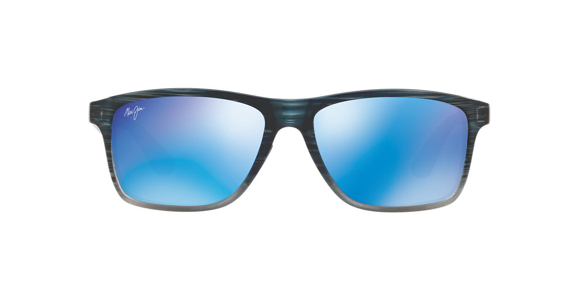 Black 798 Onshore Blue Mirror  58