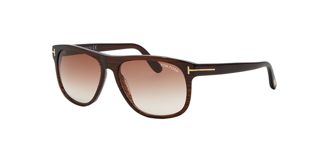 ef420051a9f Tom Ford TR000147 58 Brown   Brown Sunglasses