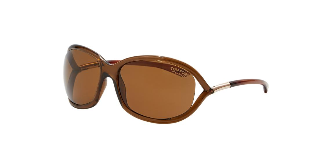 Tom Ford Woman Sunglass FT0008 JENNIFER -  Frame color: Brown, Lens color: Brown, Size 61-16/120