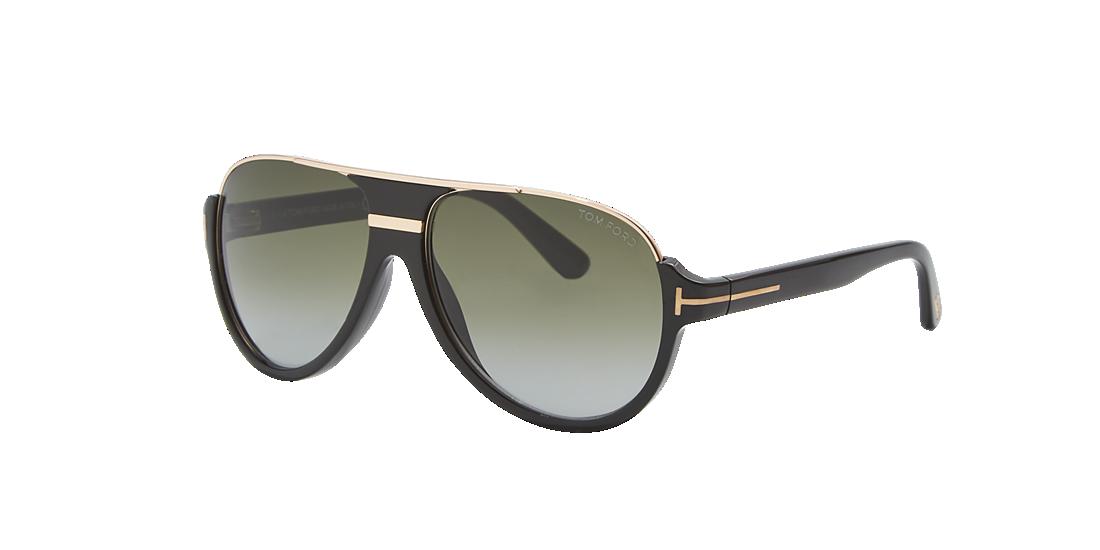 5b580fff74bba Tom Ford FT0334 DIMITRY 59 Green   Black Sunglasses