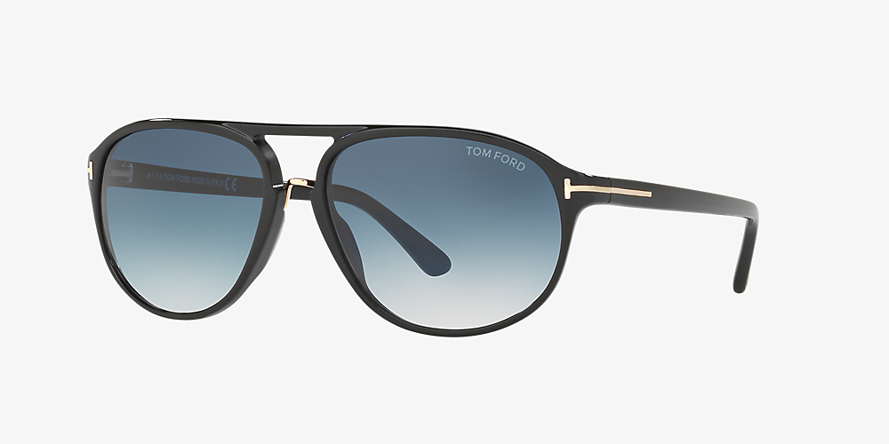 footwear latest discount official store Tom Ford FT0447 JACOB 60 Blue & Black Sunglasses | Sunglass Hut USA