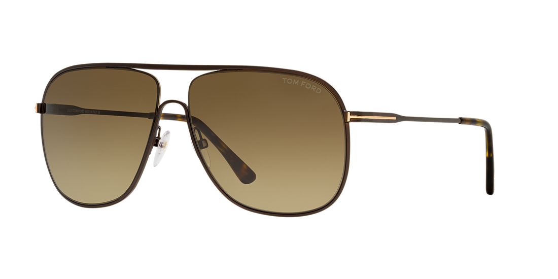70b9a26722 Tom Ford FT0451 DOMINIC 60 Burgundy   Brown Sunglasses