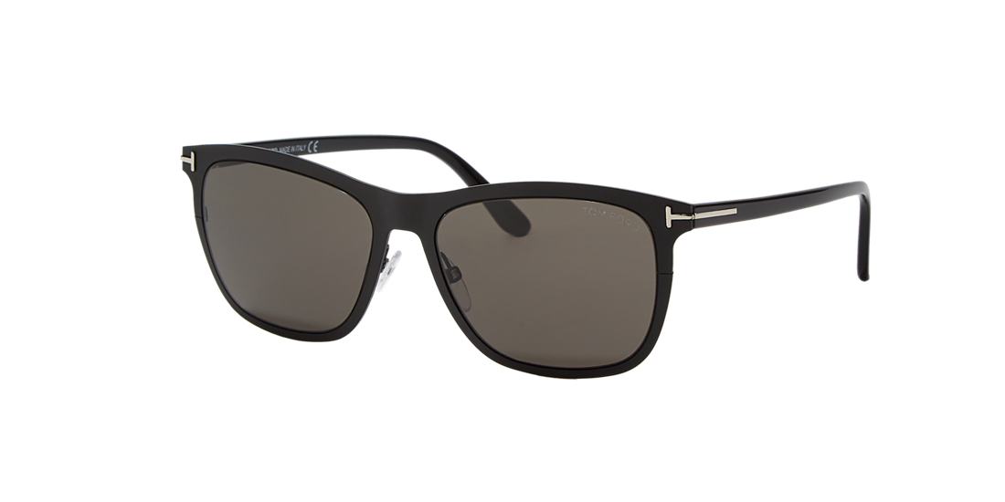 e9ccf805a123 Tom Ford TR000894 55 Grey-Black   Black Sunglasses